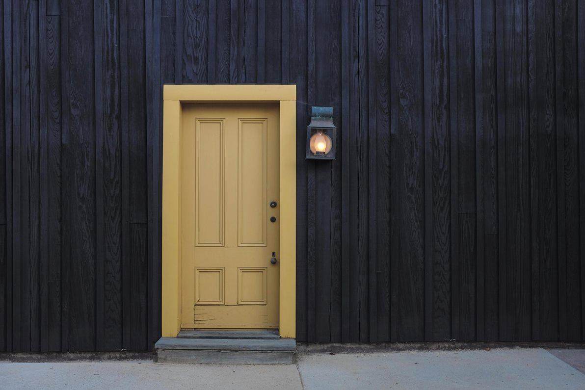 una entrada una casa
